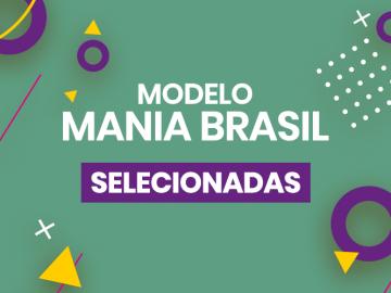 Candidatas para dia de modelo Mania Brasil